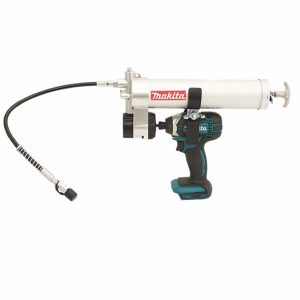 18V Cordless Impact Driver Skin and Grease Gun Attachment