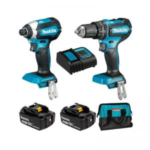 18V 3.0Ah Cordless 2 Piece Combo Kit