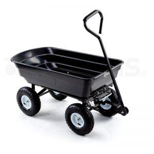 PlantCraft 250kg Poly Pull Dump Cart