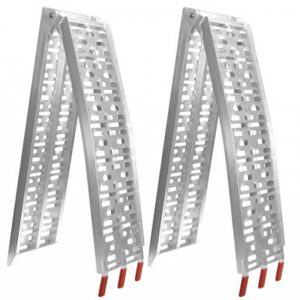 2X Aluminum Folding Loading Ramps