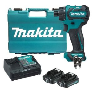 12V Max 1/4″ Hex Chuck Driver Drill Kit