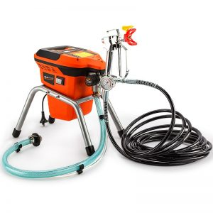 740W Electric High Pressure Mobile Paint Station