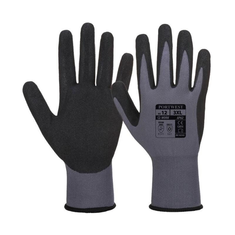 Liquid Repellent Sandy Nitrile Glove
