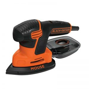 120W Mouse Detail Sander with 9 Accessories