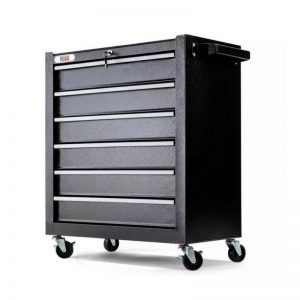 6 Drawer Tool Box Cabinet with Castors