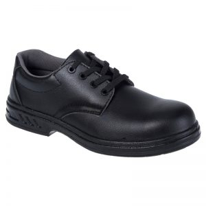 Portwest Black Laced Safety Shoe