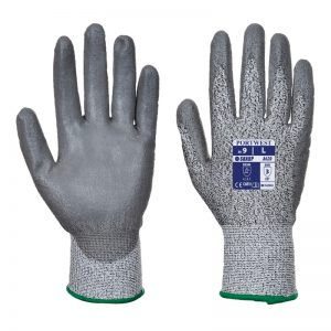 Cut Resistant 3 PU Palm Safety Gloves