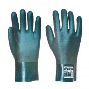 Double Dipped PVC Gauntlet 27cm Safety Gloves