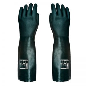 Double Dipped PVC Gauntlet 45cm Safety Gloves