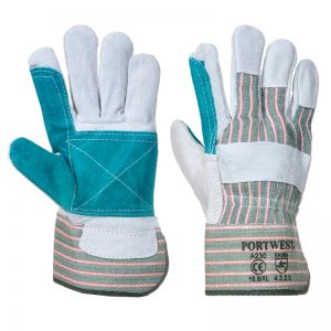 Double Palm Rigger Safety Gloves