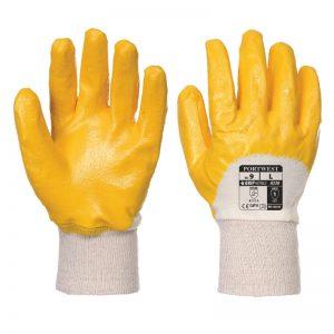 Nitrile Light Knitwrist Safety Gloves