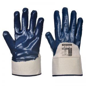 Nitrile Safety Cuff Gloves