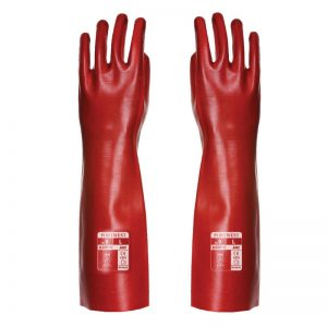 PVC 45cm Gauntlet Safety Gloves