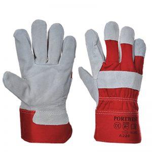 Premium Chrome Rigger Safety Gloves