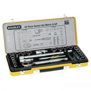 Stanley 43pce Metric & Imperial Socket Set