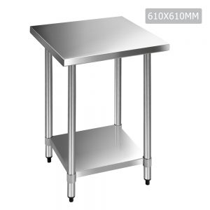 Stainless Steel Adjustable Work Bench Table