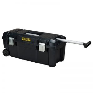 Stanley 28in Toolbox with Wheels and Pull Handle
