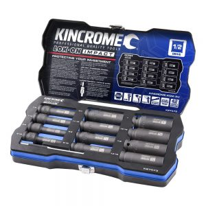 Kincrome 12pce 1/2inch Imperial Impact Socket Set