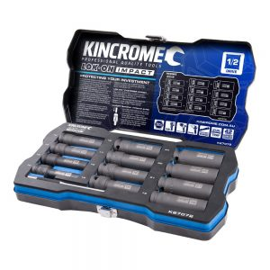 Kincrome 12pce 1/2in Deep Impact Socket Set