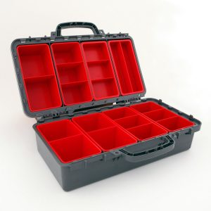 Exactapak MultiBox Storage With Clear Lids