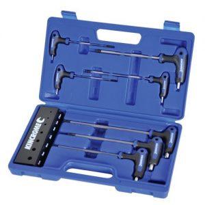 Kincrome T-Handle Metric Hex Key Set 7pce