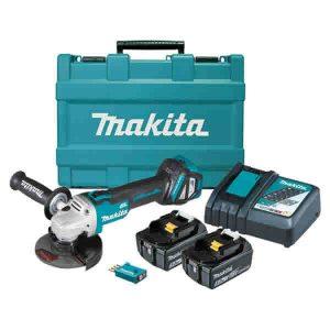 Makita 18V 125mm Cordless Angle Grinder Kit