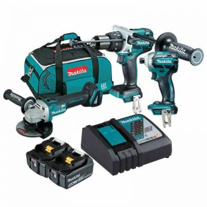 Makita 18V 3 Piece Cordless Combo Kit