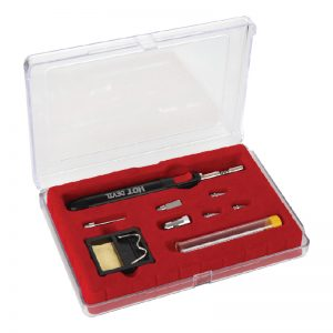 Hot Devil 9 Piece Slimline Torch / Soldering Iron Kit