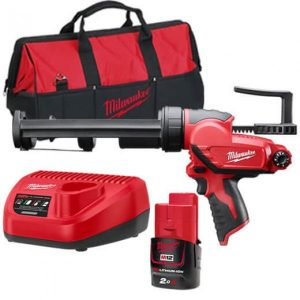 Milwaukee 12V M12 310ml Caulk and Adhesive Gun Kit