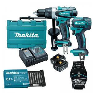 Makita 18V Cordless 2Pc Combo Kit