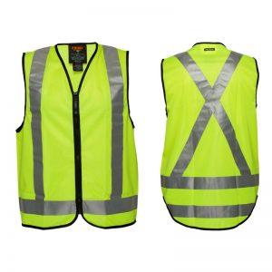 Portwest Day/Night Cross Back Tape Vest