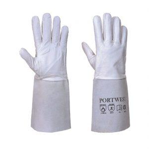 Premium Tig Welding Gauntlet – Grey