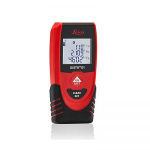 LEICA DISTO D1 Bluetooth Laser Distance Meter 40M