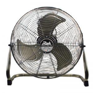 ROK 450mm 130W Swivel Head Floor Fan