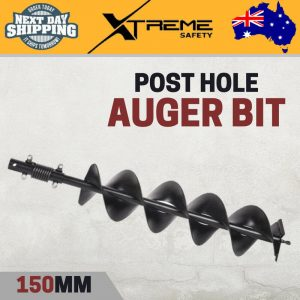 New Kincrome 150mm Post Hole Auger Bit Earth Fence Borer Drill Digger Twin Vane