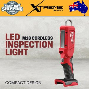 New Milwaukee M18 Cordless Lithium Ion LED Pivoting Inspection Light – Skin Only