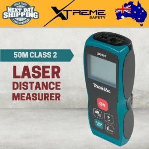 New Makita 50M Class 2 Laser Distance Measurer LCD Meter Range Finder Digital
