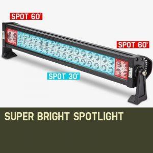 Bullet 120w 21inch 120w epistar led light bar aloadofball Image collections