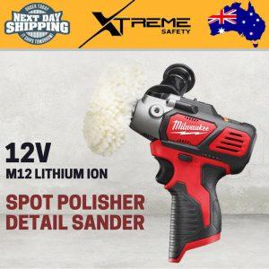 Milwaukee M12 Cordless 12V Lithium Ion Spot Polisher / Detail Sander – Skin Only