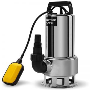 Protege 2000W Submersible Dirty Water Pump