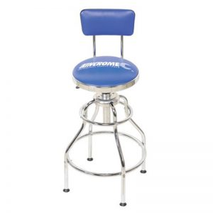 Kincrome Pneumatic Garage Blue Stool